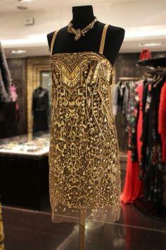 golden glamour courtesy of Roberto Cavalli