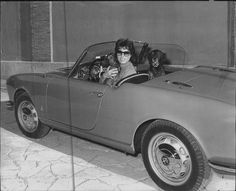 Anna Magnani, Alfa Romeo Spider, Dramatic Arts, Best Actress, Vintage Images, Cinema, Black And White, Celebrities, Porsche