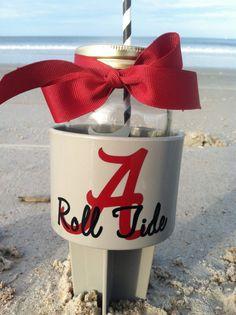 Alabama Roll Tide Beach SpikerDrink Keys by TooCutePersonalized