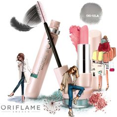 The ONE Featherlight by Oriflame by nadia-barbova on Polyvore featuring beauty