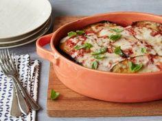 Melanzane Alla Parmigiana (Eggplant Parmigiana) : Recipes : Cooking Channel DEBI MAZAR AND GABRIELE CORCOS