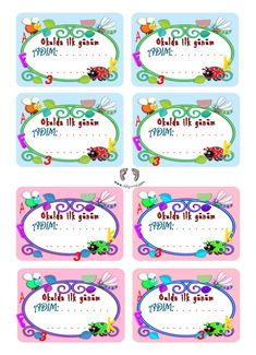 Name Badges and Name Badges preschool first class first day name badge – Name B… First Day School, Pre School, Back To School, School Frame, Name Badges, Assertiveness, Preschool Activities, About Me Blog, Names