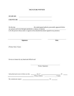 13 best notary images on pinterest free printable certificate and a notary official should use this printable legal form to legally witness the signing of documents altavistaventures Gallery