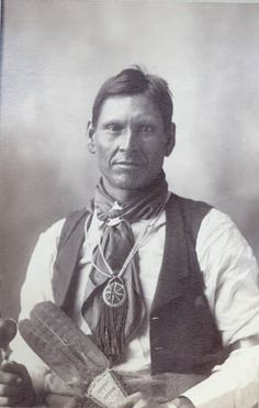 Native American Arapaho man, named, Jack Bullbear. He is the man in the middle of the Arapaho Chiefs in the Chief board I have.        Flickr - Photo Sharing!