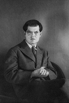 August Sander. Der Dadaist Raoul Haussmann, Berlin, 1928