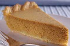 If you've got canned pumpkin or mashed cooked fresh pumpkin, this Sour Cream-Pumpkin Custard Pie is the place to put it!