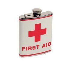 Une fiole vintage First Aid