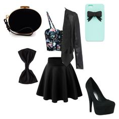 """""""Girly night out"""" by xxxskatergurl1xxx ❤ liked on Polyvore"""