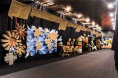Barcelona. Abril2016 Exposición para el 40 aniversario de la feria Alimentaria. Se pretende dar un homenaje a las empresas participantes y hacer un...