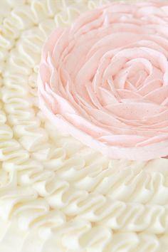 How to make a buttercream ruffle cake.