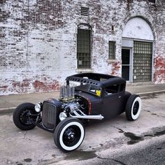 A hot rod is a specific type of automobile that has been modified to produce more power for racing straight ahead. The hot rod originated in the early twentieth century in the United States and continued in popularity over several decades until a decline in the 1970s. It was then that street rods to