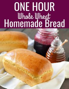 The Rise Of Private Label Brands In The Retail Meals Current Market One Hour Whole Wheat Bread Recipe. Instructions to Make Perfect Homemade Bread In One Hour. Tips And Tricks For Making The Best Homemade Bread. Bread Machine Recipes, Easy Bread Recipes, Baking Recipes, Whole Food Recipes, Best Honey Wheat Bread Recipe, White Whole Wheat Bread Recipe, Easy Healthy Bread Recipe, Amish Recipes, Recipes