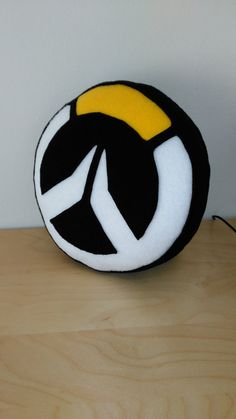 Overwatch Logo Pillow by WeatherlightWorkshop on Etsy