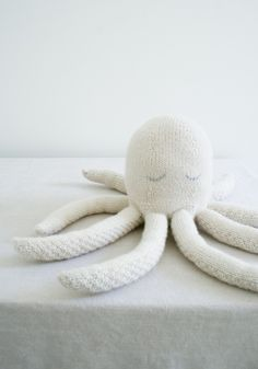 Deep sea octopus - our top 10 FREE animal patterns - find them all on the Let's Knit blog!