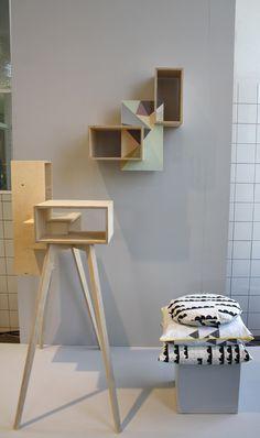 Wall Cabinet- A collaboration of Studio SZ and LileSadi at Dutch Design Week 2014