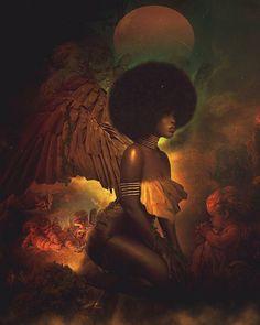 39 ideas for african art tattoo god Black Love Art, Black Girl Art, Black Girl Magic, Black Girls, Sexy Black Art, Art Girl, Black White, Black Goddess, Goddess Art