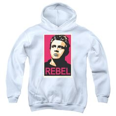 Dean/Rebel Campaign Youth Pull-Over Hoodie in, Boy's