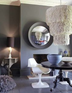 This is the color grey I want in my living room. It's not too dark is it?