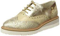 Oferta: 39.95€ Dto: -12%. Comprar Ofertas de XTI 046706, Zapatos de Cordones Derby para Mujer, Dorado (Oro), 39 EU barato. ¡Mira las ofertas!
