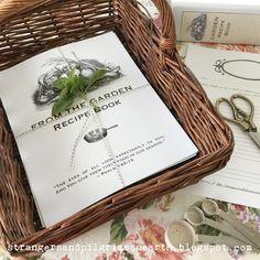 "Strangers & Pilgrims on Earth: ""In Due Season"" Garden Cookbook ~ Free Printable"