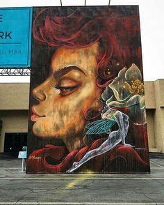 The Rape Of Proserpina PichiAvo Art Design Graffiti Street - Beautiful giant murals greek gods pichi avo