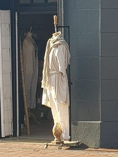 He was still dreaming when she got out of bed and dressed quietly . Linen Jackets, Getting Out Of Bed, Pure Products, Statue, Art, Craft Art, Kunst, Gcse Art, Sculpture