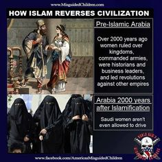 Reverses Civilization....know your history, people...it always repeats itself when ignorant people are not paying attention.