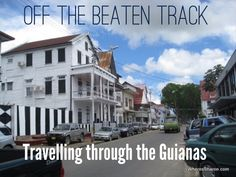 Details and information about travelling through the Guianas!! http://www.wheressharon.com/solo-travels/big-trip-2/off-beaten-track-travel-guianas/ #travel #guianas #guyana #suriname #frenchguiana