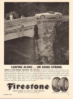 Auto Body Repair, Car Repair, Firestone Tires, Jaguar Xk, Old Ads, Car Accessories, Classic Cars, Advertising, Money