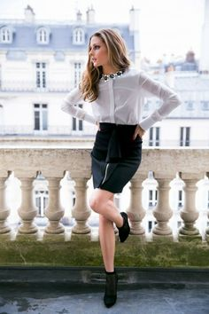 Obsessed with this look on Olivia Palermo.