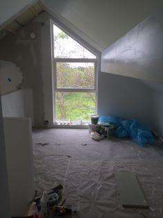 snart ferdig på loftet