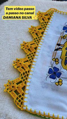 Filet Crochet, Crochet Doilies, Knit Crochet, Kids Rugs, Crochet Projects, Patches, Diy Crafts Videos, Home Decor, Crochet Dishcloths