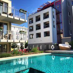 Sole-Aussenpool im Strandhotel Heringsdorf