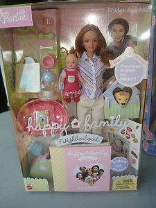 Happy Family Nikki's 1st Birthday Midge and Nikki Barbie Set   eBay