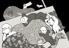 "Ina Korneliussen: ""My Family"". Ina is a Danish comic book artist and illustrator."