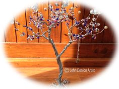 Wire Sculptured Tree