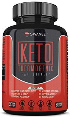 Fat Burner Keto Diet Pills. Thermogenic Fat Burner Weight Loss Supplement for Men and Women. Formulated to Burn Fat for Fuel, Suppress Appetite, Increase Metabolism, Jumpstart Ketosis. 30 Day Supply...  OPTIMALLY FORMULATED: Formulated to help support increased blood ketone levels, athletic endurance, mental focus, sustained energy, increased metabolism and fat burning for clean energy. Help conquer your diet and exercise routines with the physical and mental drive our weight