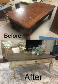 34 Perfect Diy Rustic Coffee Table Design Ideas And Remodel. If you are looking for Diy Rustic Coffee Table Design Ideas And Remodel, You come to the right place. Here are the Diy Rustic Coffee Table. Painted Coffee Tables, Rustic Coffee Tables, Diy Coffee Table, How To Paint Coffee Table, Refurbished Coffee Tables, Chalk Paint Table, Coffee Table Upcycle Ideas, Diy Wood Table, Driftwood Coffee Table
