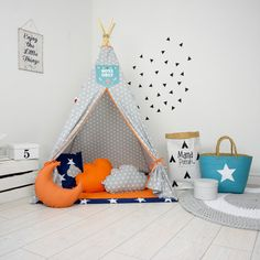 Childrens teepee playtent tipi zelt wigwam kids teepee tent