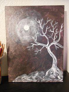 Original Painting Acrylic on Canvas Board 9x12 by LadyAlchemy13, $55.00