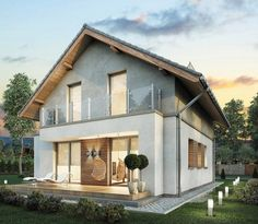 Home Fashion, Decoration, Townhouse, Terrace, Villa, Cabin, Mansions, House Styles, Buildings