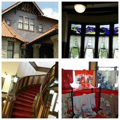 ミニ着物展を見学に #川上貞奴邸  に行ってきました。  #東亜和裁 #toawasai #ミニ着物 #着物 #kimono #きもの #文化のみち二葉館  #川上貞奴