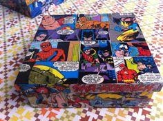 Caixa Super Heróis