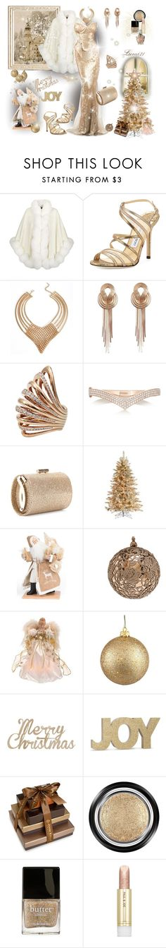 """christmas fantasy"" by lumi-21 ❤ liked on Polyvore featuring Harrods, Jimmy Choo, Lara Bohinc, Mattia Cielo, Anita Ko, Lynn Haney, Goodwill, Frontgate, Kaiser and John Kelly Chocolates"