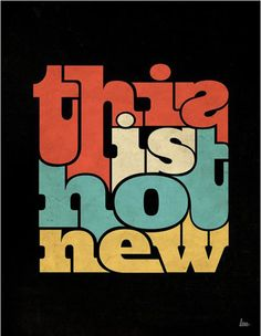 'This Is Not New' - Lee Huynh