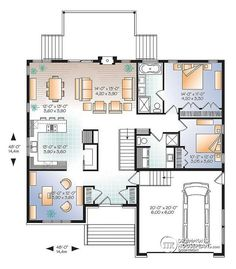 Level Modern Home Design, Private Master Bath, Open Floor Plan Concept, Home  Office   Sonata 2 Good Ideas