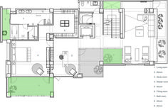 The Vertical Forest,Second Floor Plan