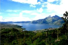Kintamani Batur Lake and Volcano in Bali.  #virtualtourist