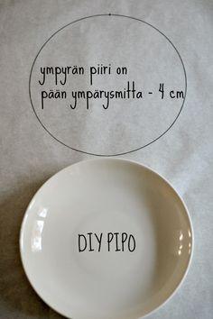 DIY pipon kaava
