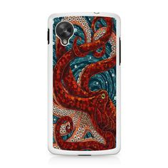 Mosaic Octopus Art Nexus 5 Case